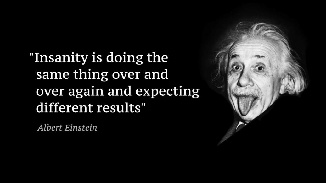 Einstein quote