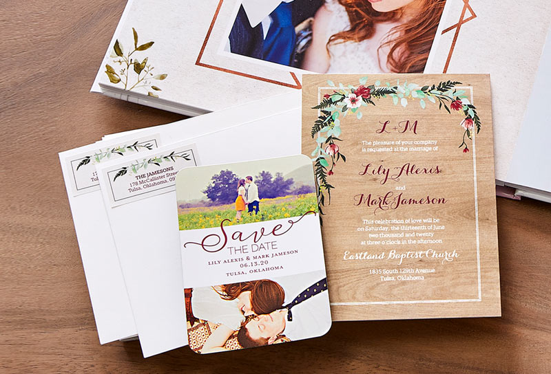 How to Design Your Own Custom Wedding Invitations   Shutterfly