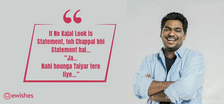 Zakir khan Quotes Quotes, india