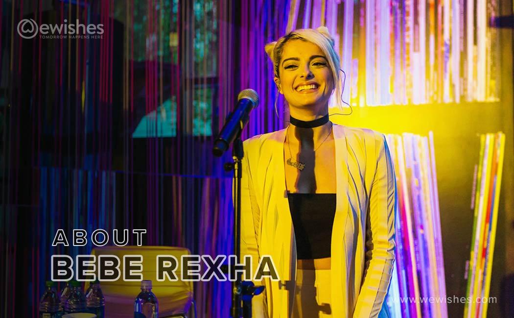 About bebe rexha