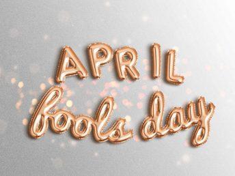 April fool message