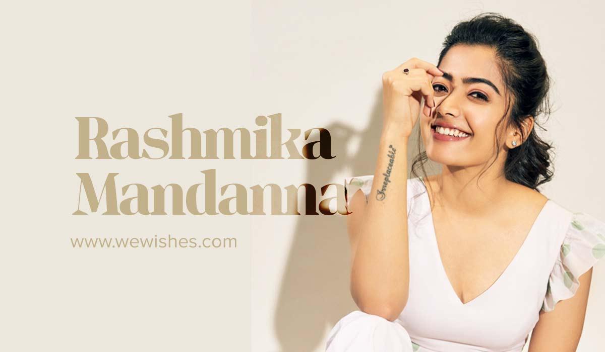 Rashmika Mandanna Bio