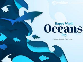 Happy Ocean day Quotes