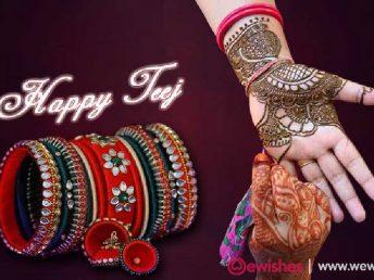 Teej Festival Wishes