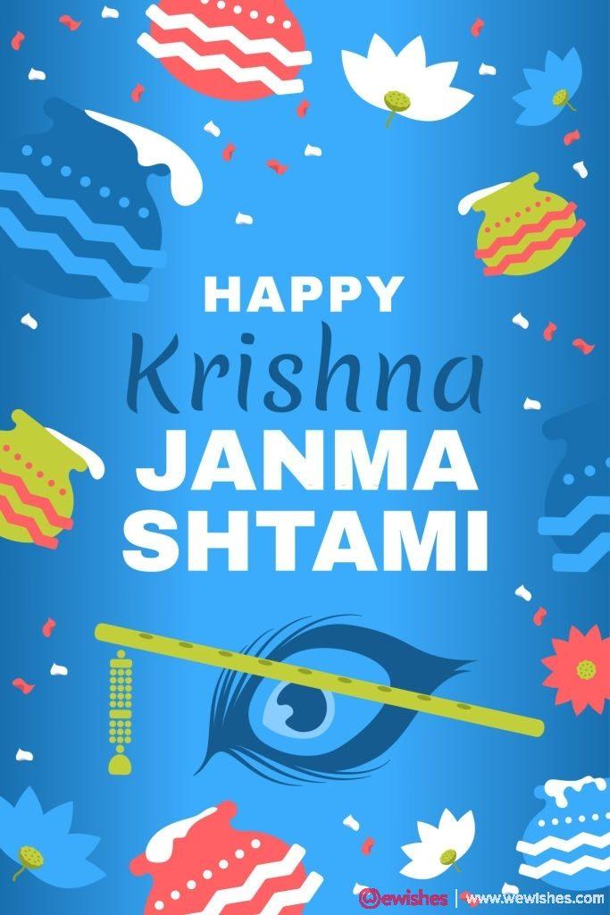 Lord Krishna in Janmashtami festival Shri Krishan Janmashtami