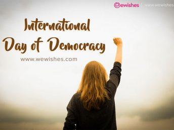 International Democracy Day 2020