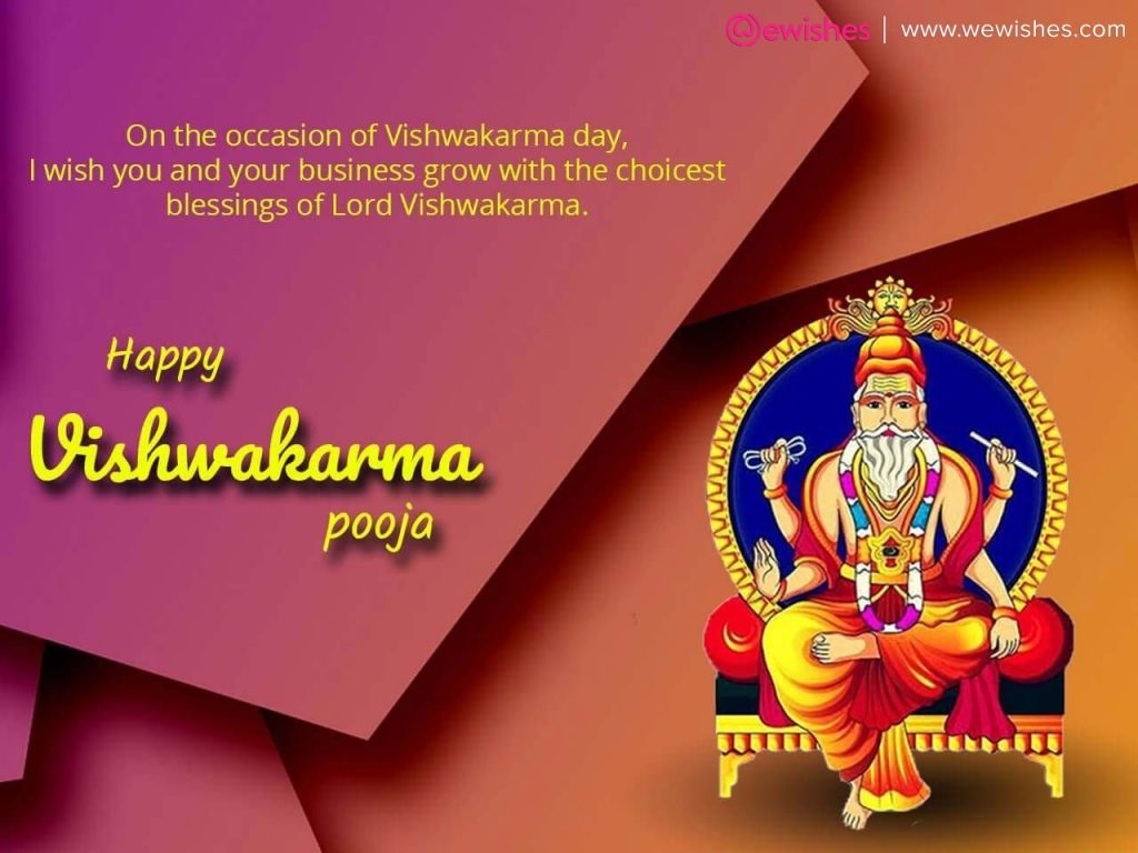 Happy Vishwakarma Puja Wishes, Image