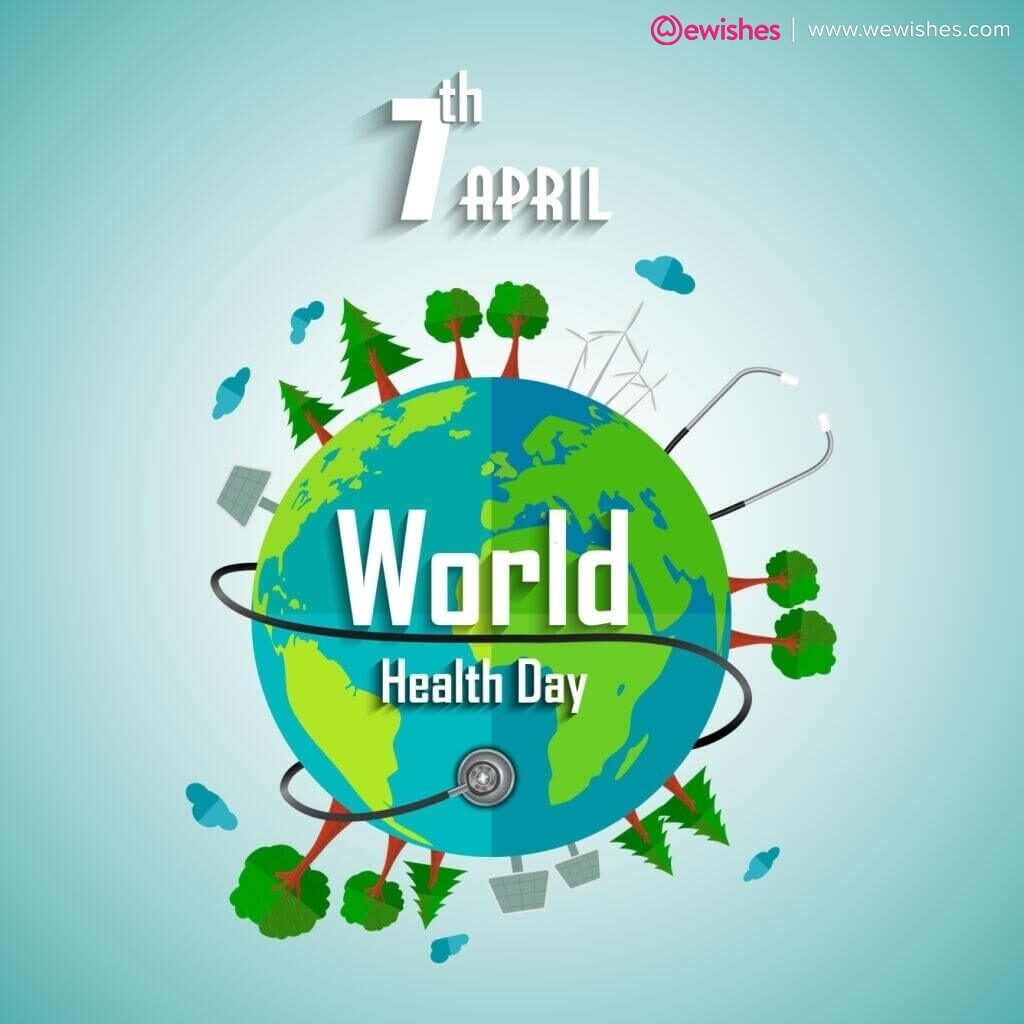 Happy World Health Day, Poster