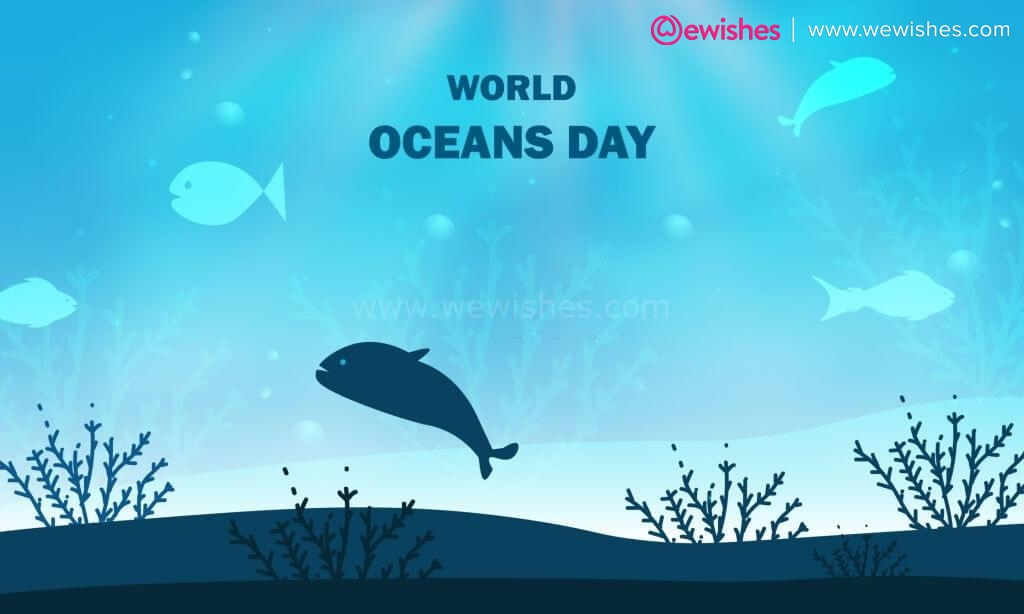 World Oceans Day Quotes, Image, Poster