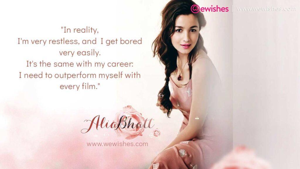 Alia Bhatt Quotes